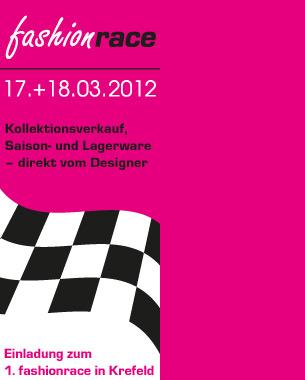 fashionrace auf der Krefelder Galopprennbahn:  17. und 18. März 2012  jeweils 11h bis 18h